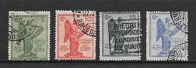 ITALY - 1921  Victory - Complete Set - VFU