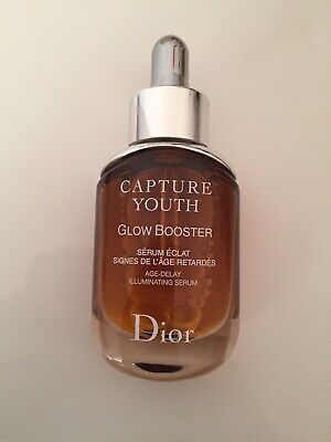 Cristian Dior Capture Youth Glow Booster Age Delay Serum 30ml. RRP £75