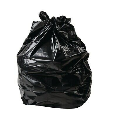 Jantex Small Black Bin Liners 32 Litre Pack of 500 (Pack of 500)