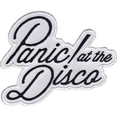 Panic At The Disco Triangle Iron On Patch Rock Music Symbol Logo
