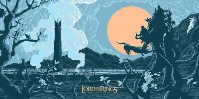 THE TWO TOWERS (LOTR) By Florey - Limited & Numbered Edition of 150