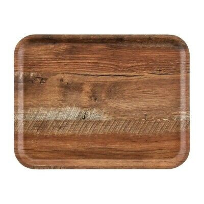 Cambro Madeira Tray Brown Oak 460mm (Next working day UK Delivery)