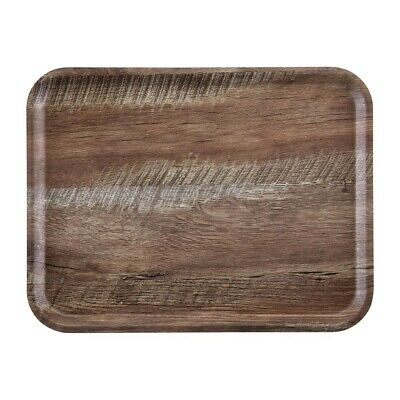Cambro Madeira Tray Dark Oak 430mm (Next working day UK Delivery)