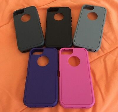 iPhone 5 5S SE Replacement Rubber Silicone Skin for OtterBox Defender Case Serie