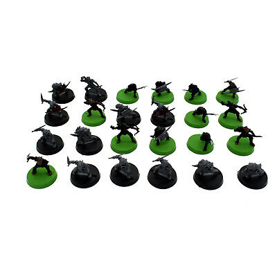 Warhammer LOTR Lord of the Rings Moria Goblin Warriors x 24