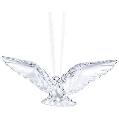 Nib-Swarovski 2018 Crystal Peace Dove Ornament~5403313~$79