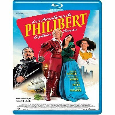 Les Aventures De Philibert Capitaine Puceau  - Blu Ray - Neuf