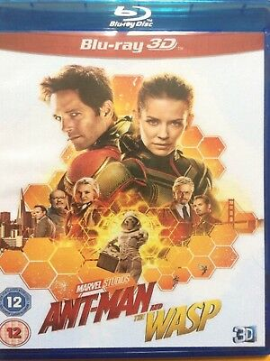 ANT-MAN and the WASP  - 2018 blu-ray 3D REGION FREE