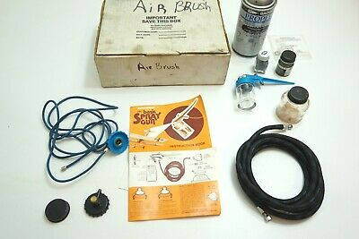 Classic Badger Model 250 Airbrush Air Brush Kit With Extras Included