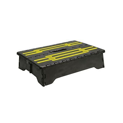 Portable Folding Riser Step with Safety Improvements - Reach Items with Ease ...