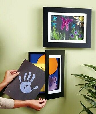 Easy Change Artwork Frames Child's Memorable Latest Work Created at School Home