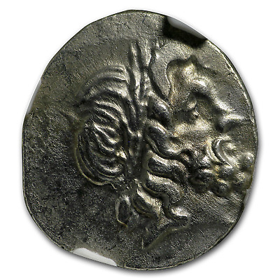 Thessalian League Ag Dbl Victoriatus (2nd-1st cent. BC) AU NGC - SKU#186608