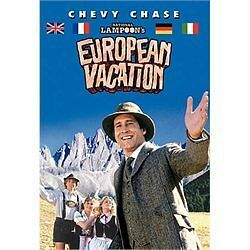 NATIONAL LAMPOON'S EUROPEAN VACATION/Chevy Chase/NEW DVD/BUY 4 ITEMS SHIP FREE