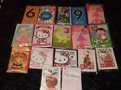 OVER 100 BIRTHDAY CARDS - Wholesale Job Lot - GREETING CARDS - AS PICTURED