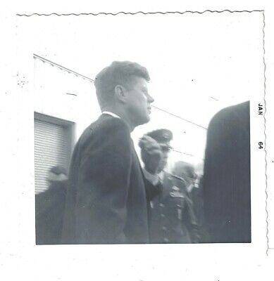 Candid John F. Kennedy photo, day before his assassination!  (148)
