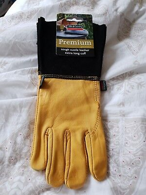 Town & Country Medium Ladies Mens Gardening Gaunlet Garden Gloves Tgl109M