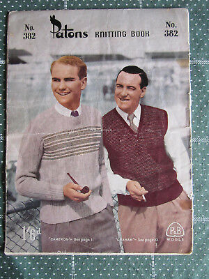 Vintage Knitting Book Patons    No. 382   ** Must See ***