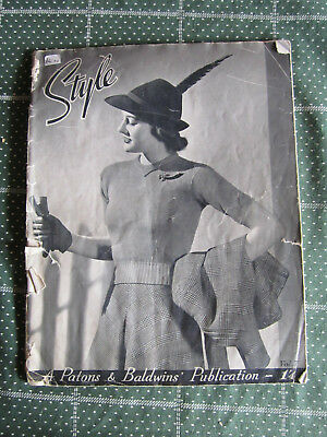 Vintage Knitting Book Style Patons & Baldwin Vol. 7     ** Must See ***