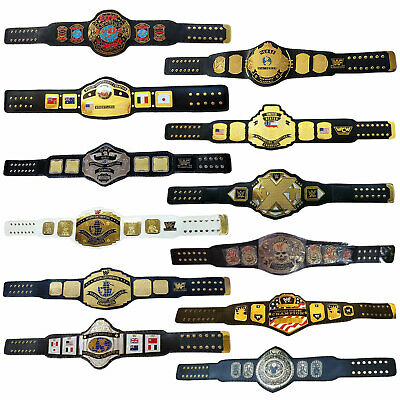 WWE/WWF Winged Eagle Stone Cold ECW Heavyweight Wrestling Championship Belts