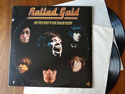 Vg/g- The Rolling Stones - Rolled Gold Vinyl German Press 1975