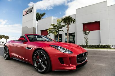 2014 Jaguar F-Type V8 S 2014 F-TYPE V8 S - PERFORMANCE PACKAGE - EXTENDED LEATHER - MERIDIAN 770 W AUDIO