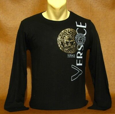 Brand New With Tags Men/'s VERSACE Long Sleeve SWEAT SHIRT