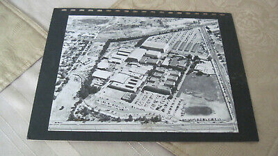 Rare Early 1950s Aerial View of Disney Animation Studios 8x10 B/W