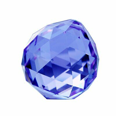 HONGVILLE Fancy Crystal Ball for Holiday Decorating Hanging 22mm