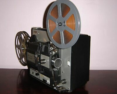B&H 471A Super 8 & Standard 8mm Multi-Motion Movie Projector ~Serviced~