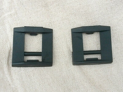 Pair Makita replacement plastic latch / catch / clip for power tool case