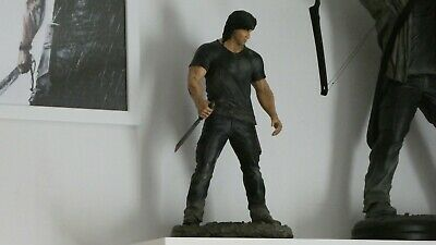 RAMBO IV Statue 1/6 Scale Hollywood Collectibles Group Stallone