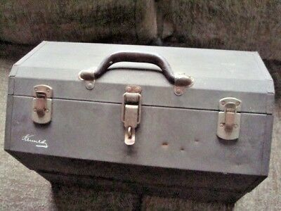 Heavyweight Kennedy Kits 1018 Tool Fishing Cantilevered Box vintage
