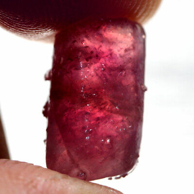 14.41 Ct. Rough Natural Ruby Top Blood Red Madagascar Dazzling Free Ship