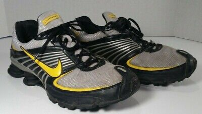 9562b6f6070a Nike Shox Turbo+ 8 LAF Livestrong Running Shoes Mens size US 12  346240 071