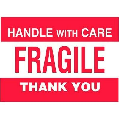 """3"""" x 5"""" Fragile Labels (500 per Roll)"""