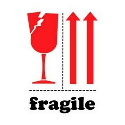 """3"""" x 4"""" Fragile Labels (500 per Roll)"""