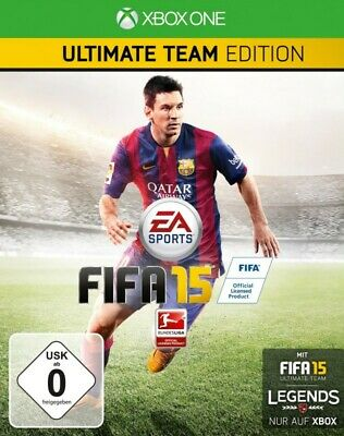 Microsoft Xbox One FIFA 15 Ultimate Team Edition + Steelbook GER NEW + BOXED