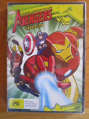 Dvd Brand New Sealed Marvel The Avengers Invasion  ** Must See **