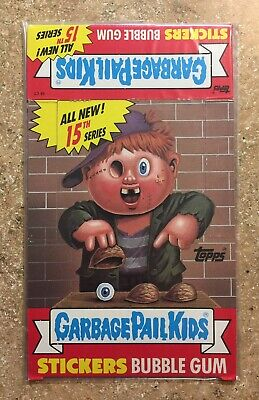 1988 Garbage Pail Kids 15th Series 15 NICE-CLEAN Empty Box, (No Packs/Cards) TWT
