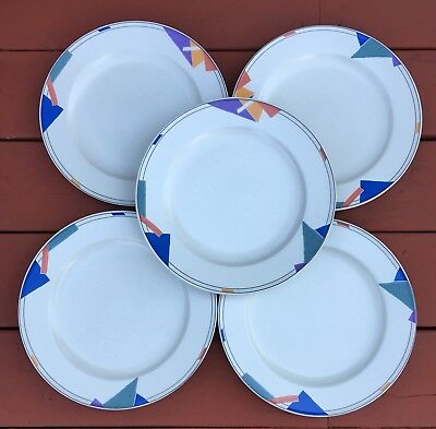 Mikasa Intaglio COLOR VISION Set of 5 Dinner Plates