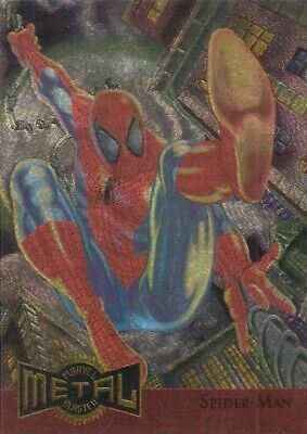 1995 Fleer Marvel Metal Metal Blaster Card #12 – Spider-Man