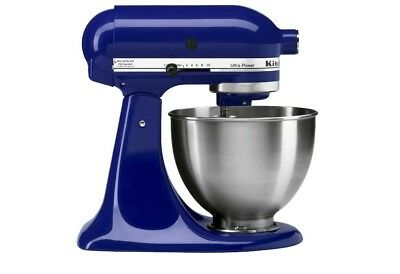 Kitchenaid 5 Speed Ultra Power Hand Mixer Ice Blue 39 95 Picclick