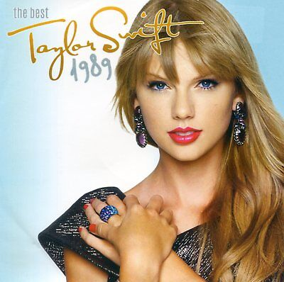 """Taylor Swift 1989 """"the Best"""" Cd Made In Indonesia !! Year 2015 / ++  Rare Cd +++"""