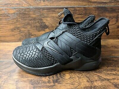 premium selection c6a2c ab77e Brand New Nike Lebron Soldier 12 XII SFG Men s Size 10.5 Triple Black  Basketball
