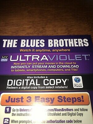 The Blues Brothers Digital Code Only