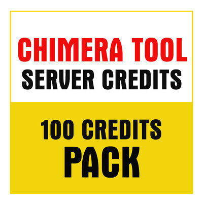 Chimera Tool Server Credit ( 100 Credit Pack ) Unlock / Wipe (Fast Delivery)