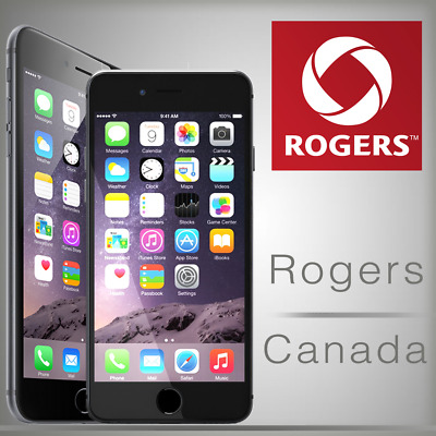 EXPRESS ROGERS FACTORY UNLOCK SERVICE IPHONE X 4s 5 5s 6 6s 6s+ SE 7+ 8+