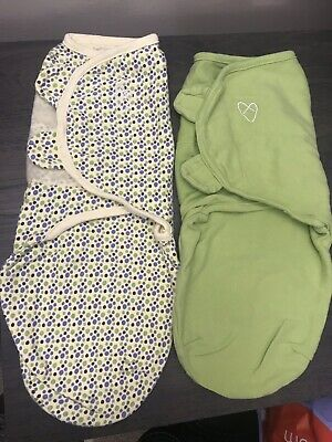 Swaddle Me  Swaddle 2-PK Size small  New without tag  green color