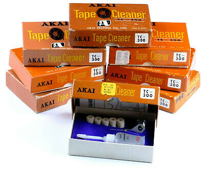 Original AKAI TC-300 Tape Cleaner Felt Kit for Audio Tape Recorder M4 M5 M6 M7