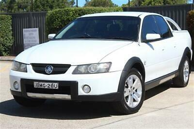 HOLDEN VZ CREWMAN CROSS 8 UTE- NOT VY VE Commodore Avalanche Maloo SS BA BF XR8